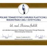dyplom-polskie-towarzystwo-chirurgii-rekonstrukcyjnej